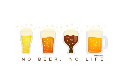ビールのカード2