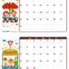 2019年03-04月カレンダー