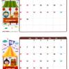 2019年09-10月カレンダー