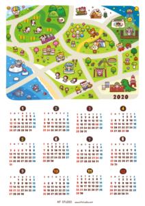 2020年間カレンダー