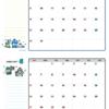 2021年05-06月カレンダー