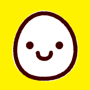 KFひま字_卵(黄)