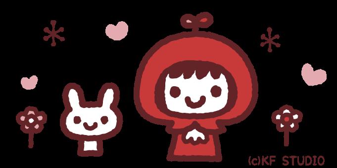 赤ずきんちゃんのイラスト01