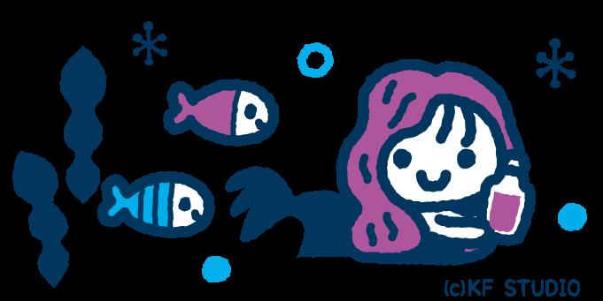 人魚姫のイラスト02