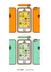 iPhone風ポチ袋