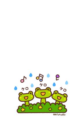 梅雨お見舞いカード01