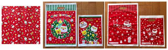 クリスマス柄包装紙