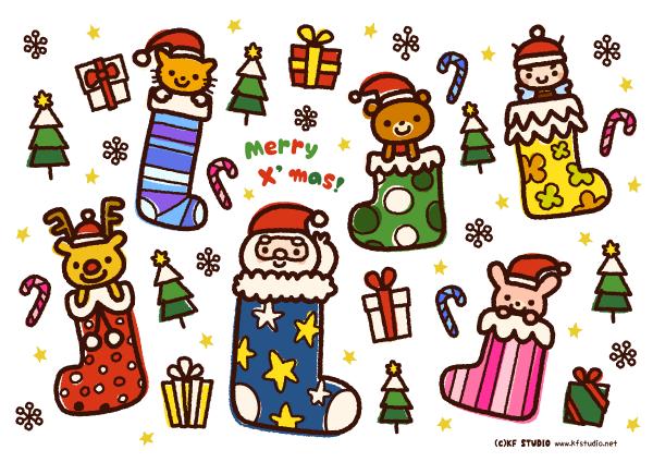 クリスマスランチョンマット
